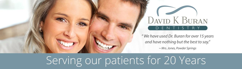 Your dentist in Acworth - David K Buran.