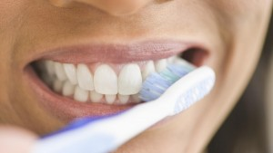 Brushing your teeth is one of many health resolutions for 2016.